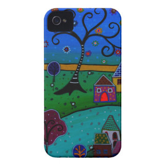 MY WONDERFUL WHIMSICAL TOWN iPhone 4 COVERS