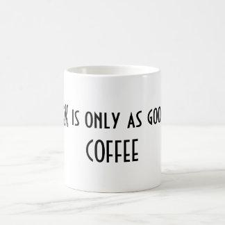 My WORK is only as good as my COFFEE Coffee Mug