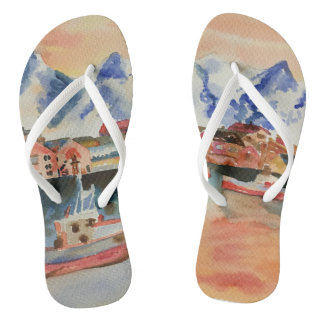My world as I see it Flip Flops