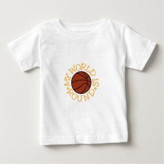My World is Round Baby T-Shirt