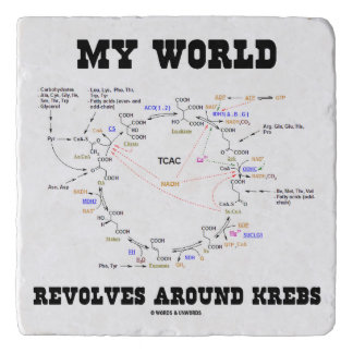 My World Revolves Around Krebs Biochemistry Humor Trivet