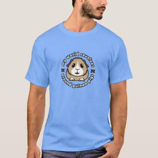 My World Revolves...Guinea Pig Men's T-Shirt