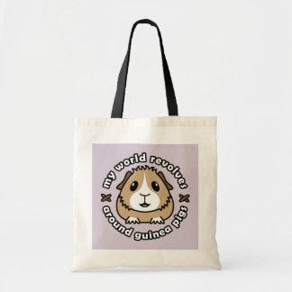 My World Revolves...Guinea Pig Shopping Bag