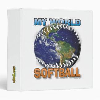 My World Softball Binder