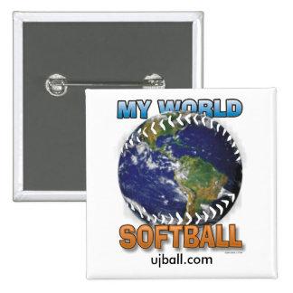 My World Softball, ujball.com Buttons