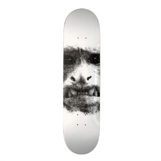 My Worry Face Custom Skate Board