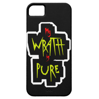 My WRATH is PURE iPhone 5 Case