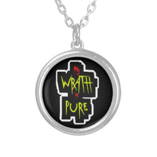 My WRATH is PURE Silver Plated Necklace