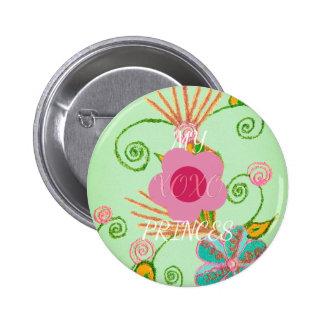 My XOXO Little Princess Design 2 Inch Round Button