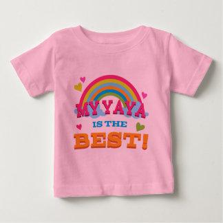 My Yaya Is the Best Baby T-Shirt