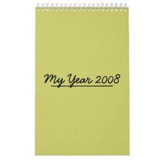 My Year 2008 Wall Calendars