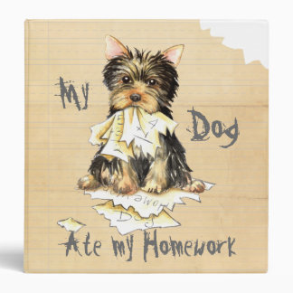 My Yorkie Ate my Homework Binder