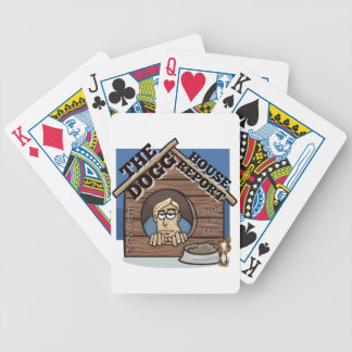 My YouTube channel THE Dogg house report store Bicycle Playing Cards