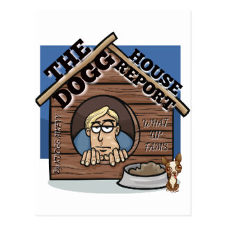 My YouTube channel THE Dogg house report store Postcard