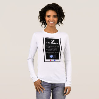 My Zen, Thoughts of Her Tao Moorish Zen Long Sleeve T-Shirt