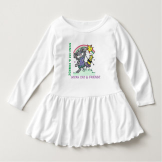 Myah Cat & Friendz Toddles Dress