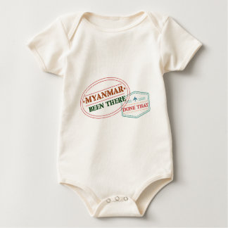 Myanmar Been There Done That Baby Bodysuit