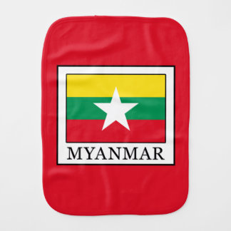 Myanmar Burp Cloth