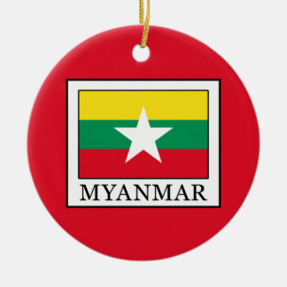 Myanmar Ceramic Ornament