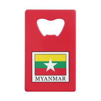 Myanmar Credit Card Bottle Opener
