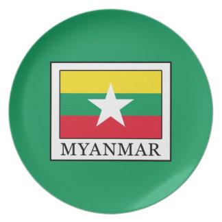 Myanmar Dinner Plates