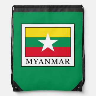 Myanmar Drawstring Bag
