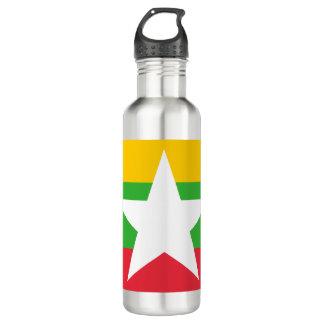 Myanmar Flag 710 Ml Water Bottle