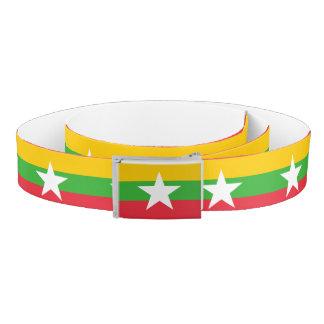 Myanmar Flag Belt