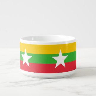 Myanmar Flag Bowl