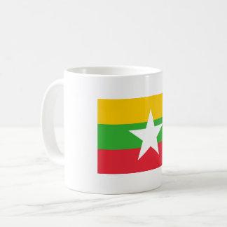 Myanmar Flag Coffee Mug