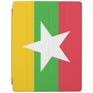Myanmar Flag iPad Cover