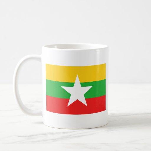 Myanmar Flag ~ Map Mug