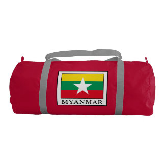 Myanmar Gym Bag