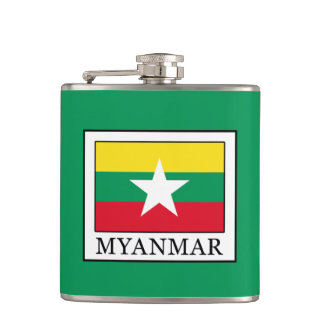 Myanmar Hip Flask