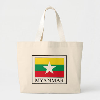Myanmar Large Tote Bag