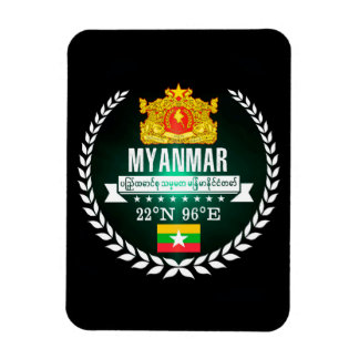 Myanmar Magnet