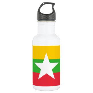 Myanmar National World Flag 532 Ml Water Bottle
