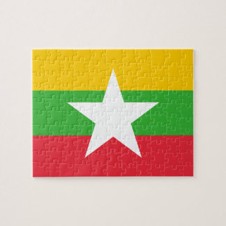 Myanmar National World Flag Puzzles