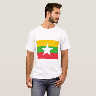 Myanmar National World Flag T-Shirt