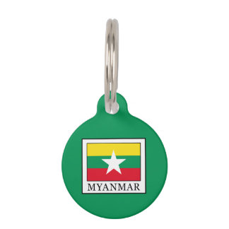 Myanmar Pet Name Tag