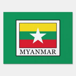 Myanmar Sign