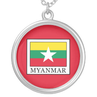 Myanmar Silver Plated Necklace