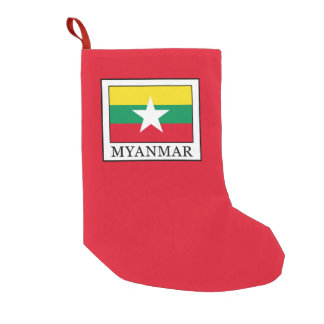 Myanmar Small Christmas Stocking