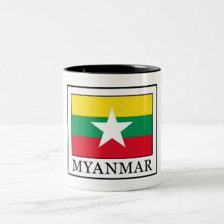 Myanmar Two-Tone Coffee Mug