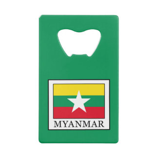 Myanmar Wallet Bottle Opener
