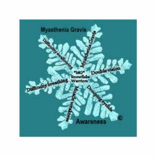 Myasthenia Gravis Awareness 3D Photo Pin Photo Cut Outs
