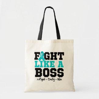 Myasthenia Gravis Fight Like a Boss Budget Tote Bag