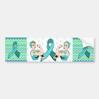 Myasthenia Gravis Women Awareness Bumper Sticker