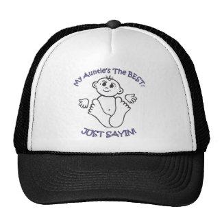 myauntie trucker hat