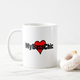 MyBassChic(tm) Crimson Heart Coffee Mug